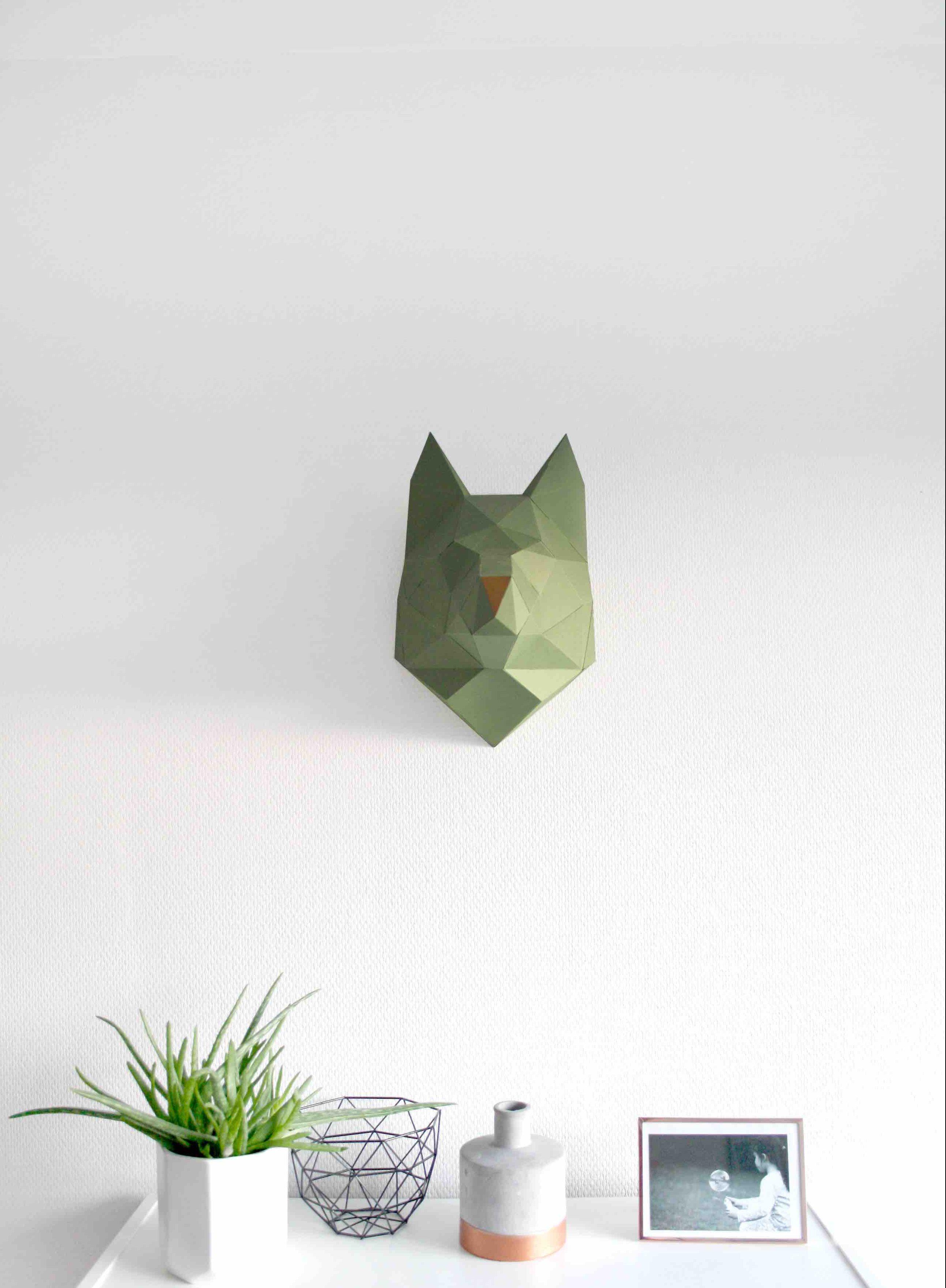 Zoorigamis bestiaire en papier id le magazine - Applique murale papier ...