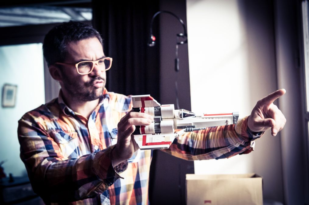 Damien Labrousse : dans le vaisseau d'un légonaute