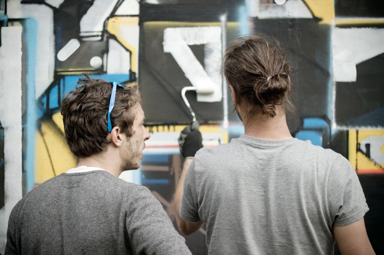 Lek et Sowat, graffeurs inspirés