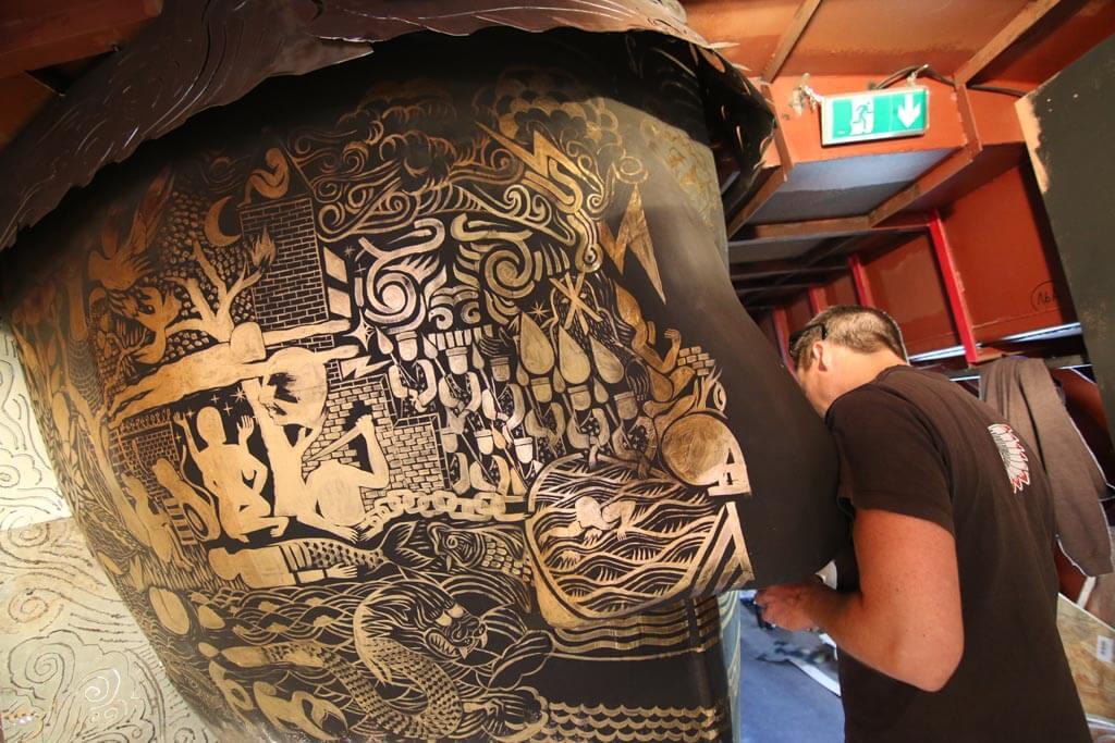 Kazy, graffeur fédérateur