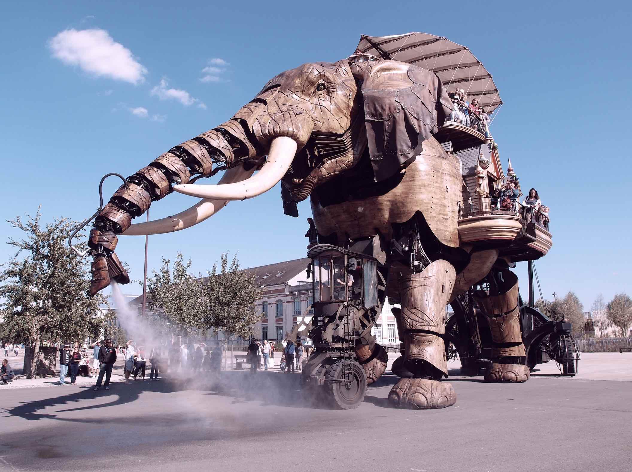 Les origines de l'éléphant nantais